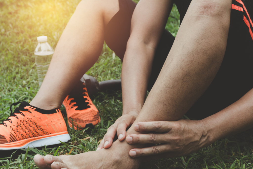 high ankle sprains in sports